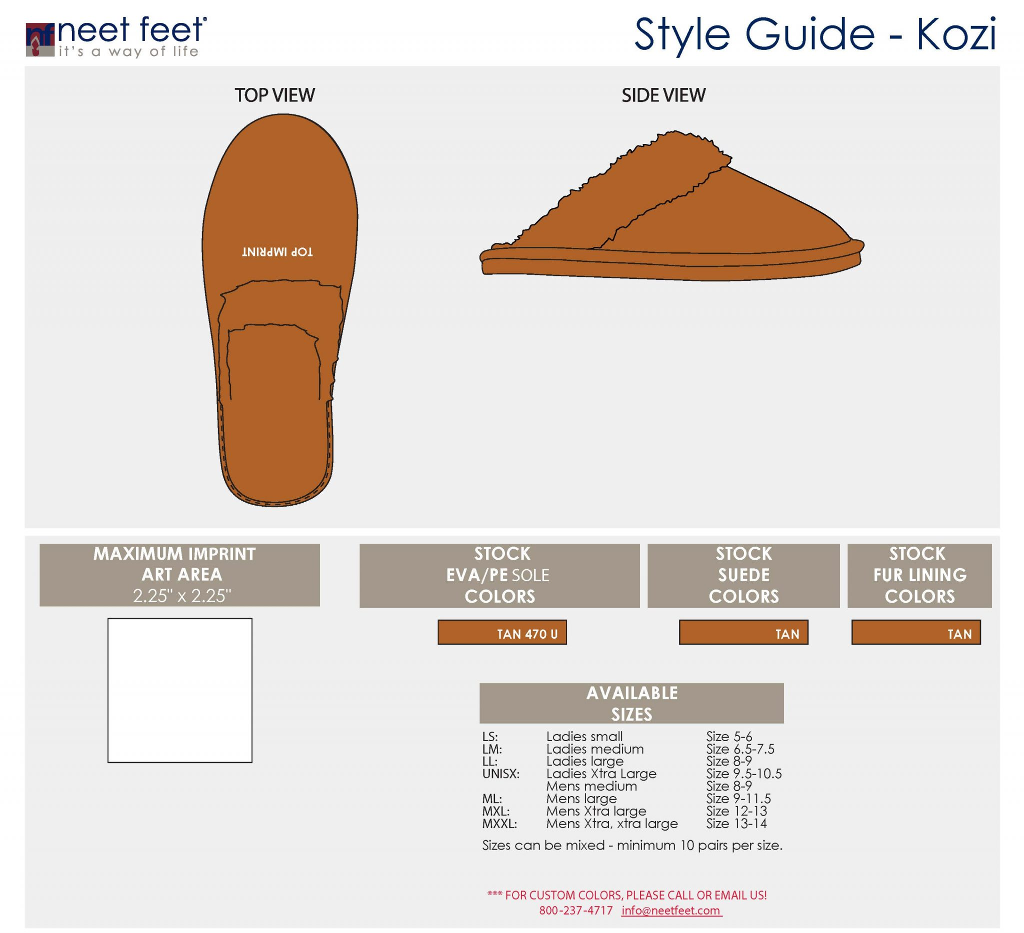 Kozi Slippers Style Guide