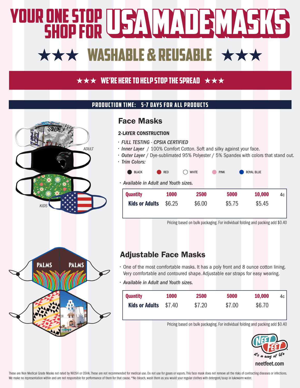 USA Made Masks
