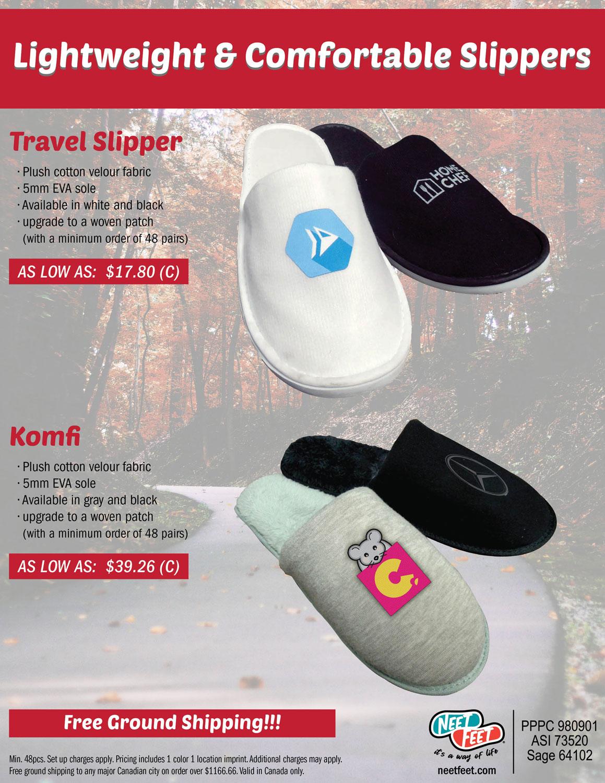 Lightweight & Comfortable Slippers